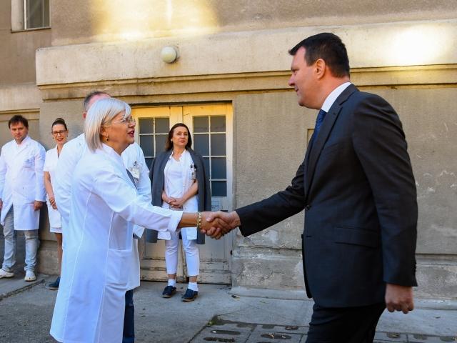 Obilazak Kliničkog centra Vojvodine (1)
