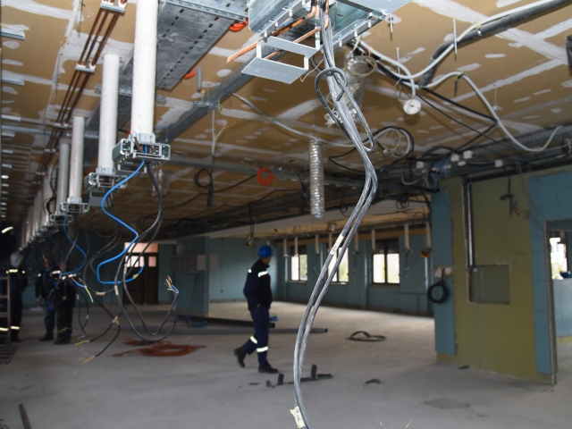 Obilazak radova na rekonstrukciji Klinike za ginekologiju i akušerstvo (12)