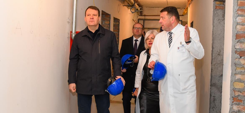 Obilazak radova na rekonstrukciji Klinike za ginekologiju i akušerstvo (28)