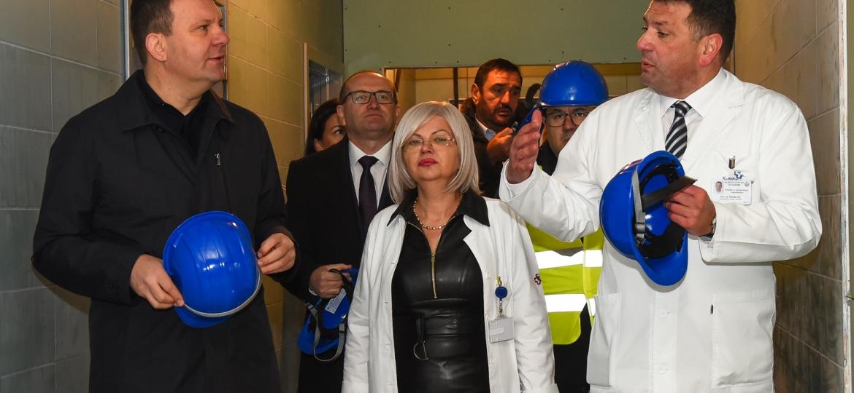 Obilazak radova na rekonstrukciji Klinike za ginekologiju i akušerstvo (29)